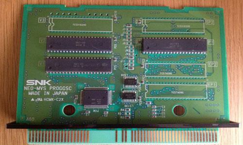 MVS Cartridge PCB 2