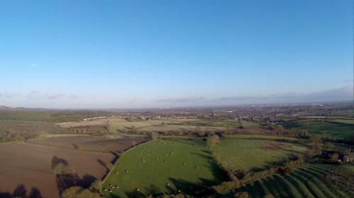 Modern Aerial Photos of Bury Camp Hillfort, Ratby, Leicestershire