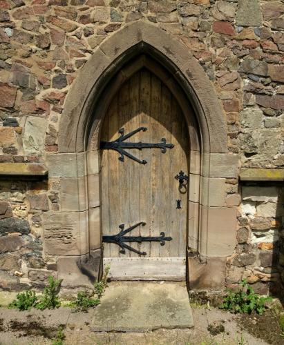 ratby-church-bishops-door